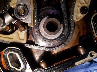 Замена цепи ГРМ Alfa Romeo