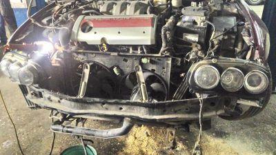 Промывка системы охлаждения Alfa Romeo