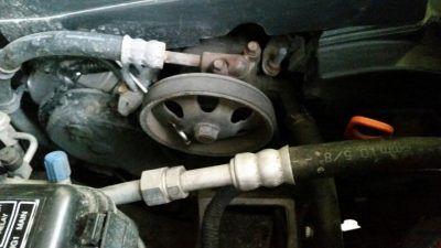 Ремонт и замена гидроусилителя Acura
