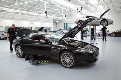 Техническое обслуживание Aston Martin