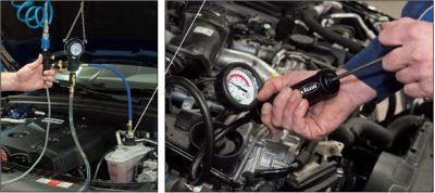 Диагностика системы охлаждения Audi