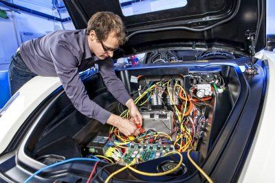 Диагностика электрооборудования Audi