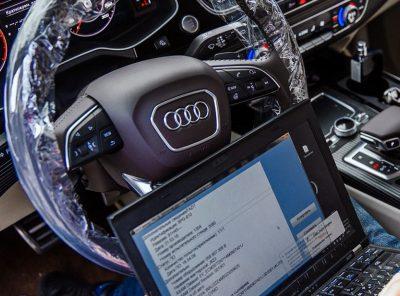 Диагностика Audi перед покупкой
