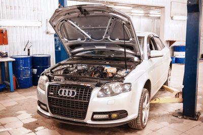 Замена антифриза Audi