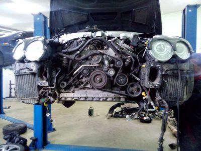 Замена двигателя Bentley