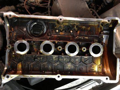 Замена клапанной крышки Bentley