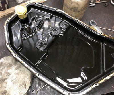 Замена масла в АКПП Bentley