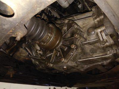 Замена масла в МКПП Audi