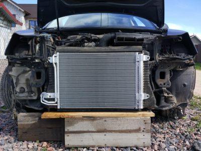 Замена радиатора охлаждения Bentley