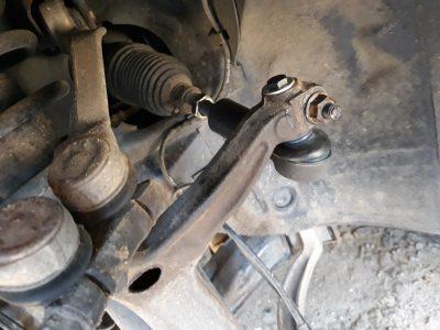 Замена рулевого наконечника Audi