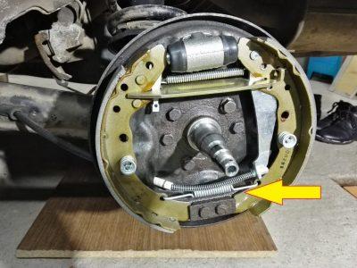 Замена тормозных барабанов Audi