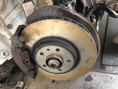 Замена тормозных дисков Audi