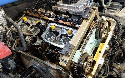 Замена цепи ГРМ BMW