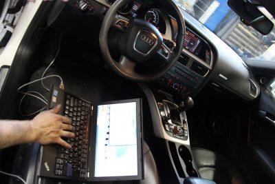 Компьютерная диагностика систем автомобиля Audi