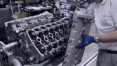 Ремонт бензиновых двигателей Bentley