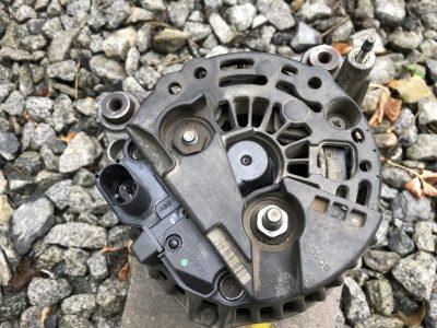 Ремонт генератора Audi