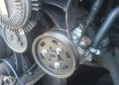 Ремонт и замена гидроусилителя Audi