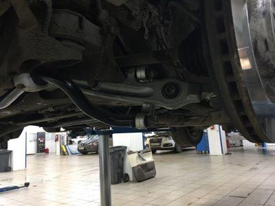 Ремонт передней подвески Bentley