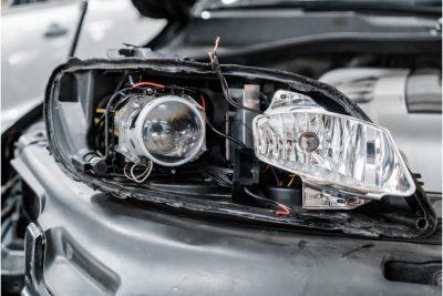 Ремонт фар и осветительных приборов Audi