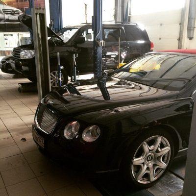 Техническое обслуживание Bentley